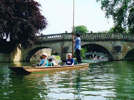 Boating in Cambridge