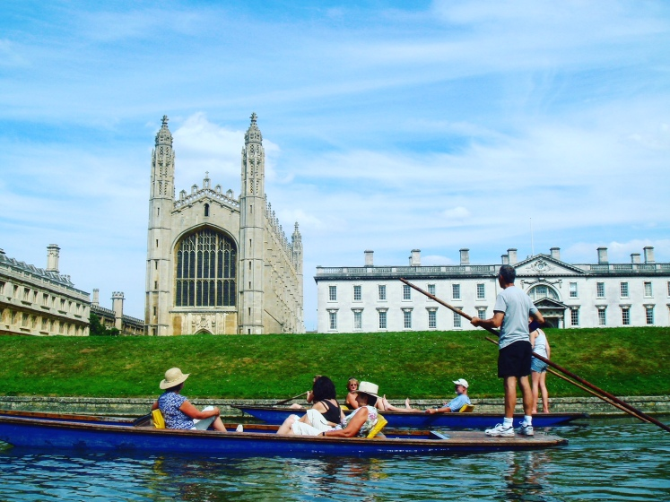 Boating on River Cam
