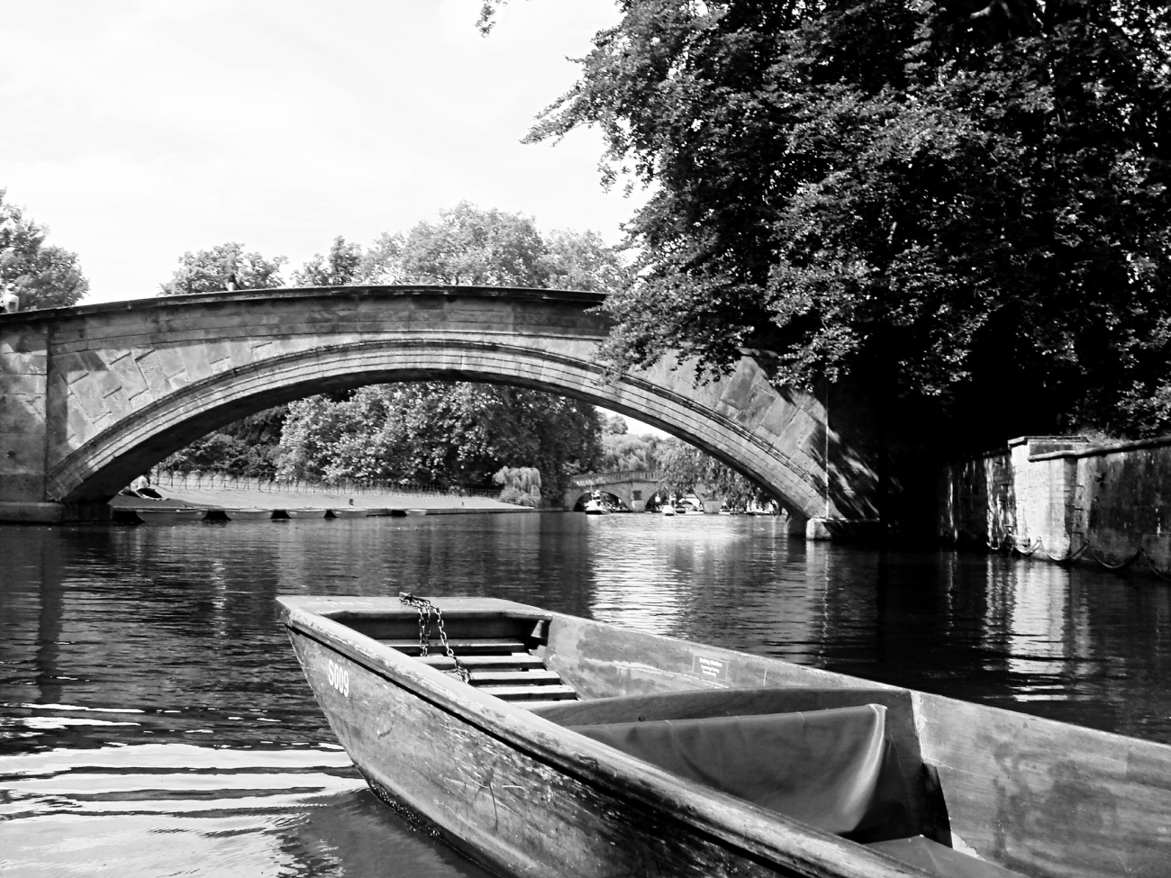 Scenes from a Boat, Cambridge