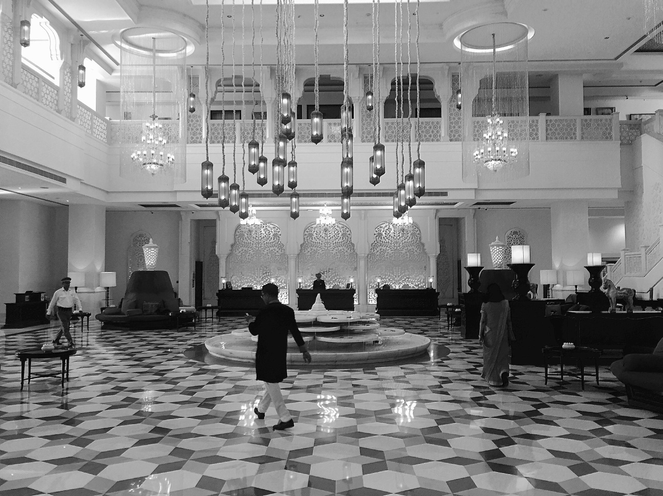 The Lobby - ITC Rajputana, Jaipur