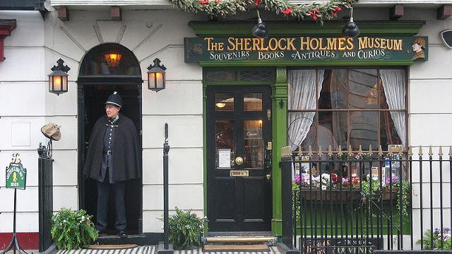Visit London -The Sherlock Holmes Museum