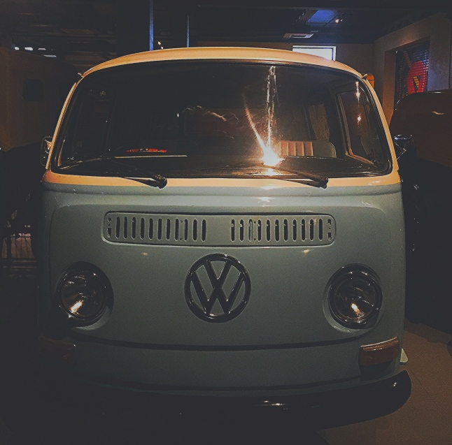 VW Van at The Heritage Transport Museum