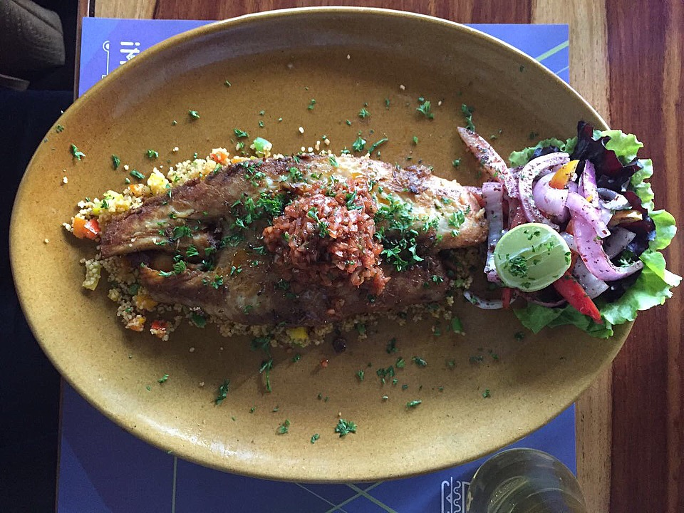 Moroccon Fish at Impromptu