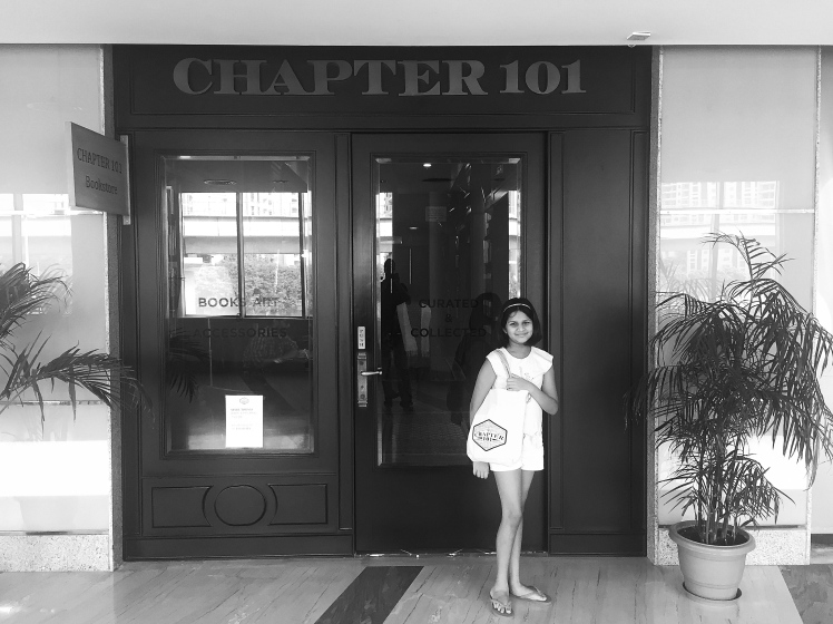 Shopping at Chapter 101 Bookstore