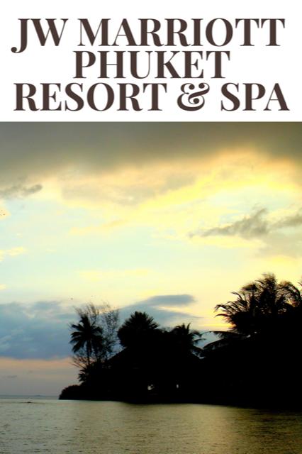 A Resort Vacation at JW Marriott Phuket Resort & Spa