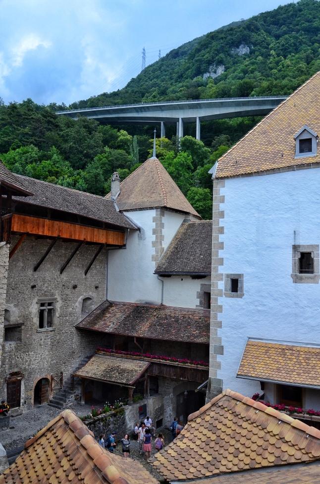 Chateau dde Chillon - Montruex