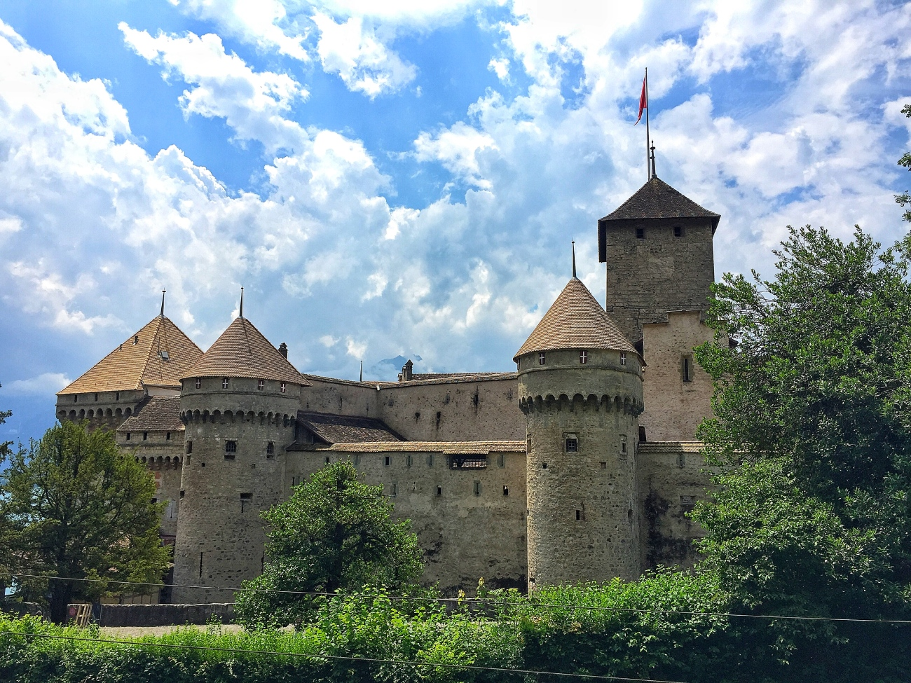 Chateau de Chillon - The Most Visited Castle in the Country