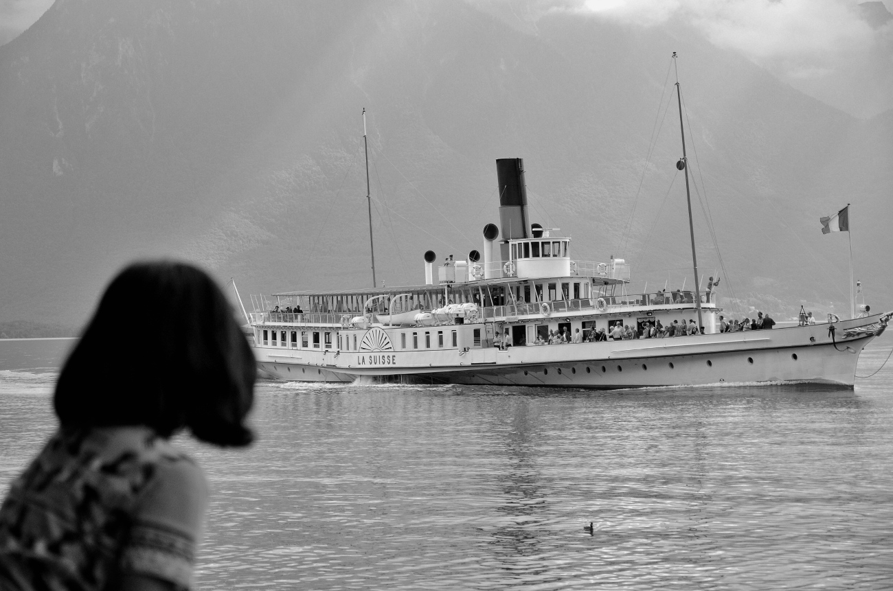 Ferry Boat in Montreux
