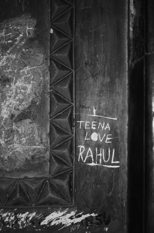 Graffiti at Safdarjung's Tomb