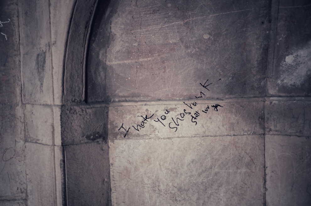 Graffiti at The Tomb of Safdarjung