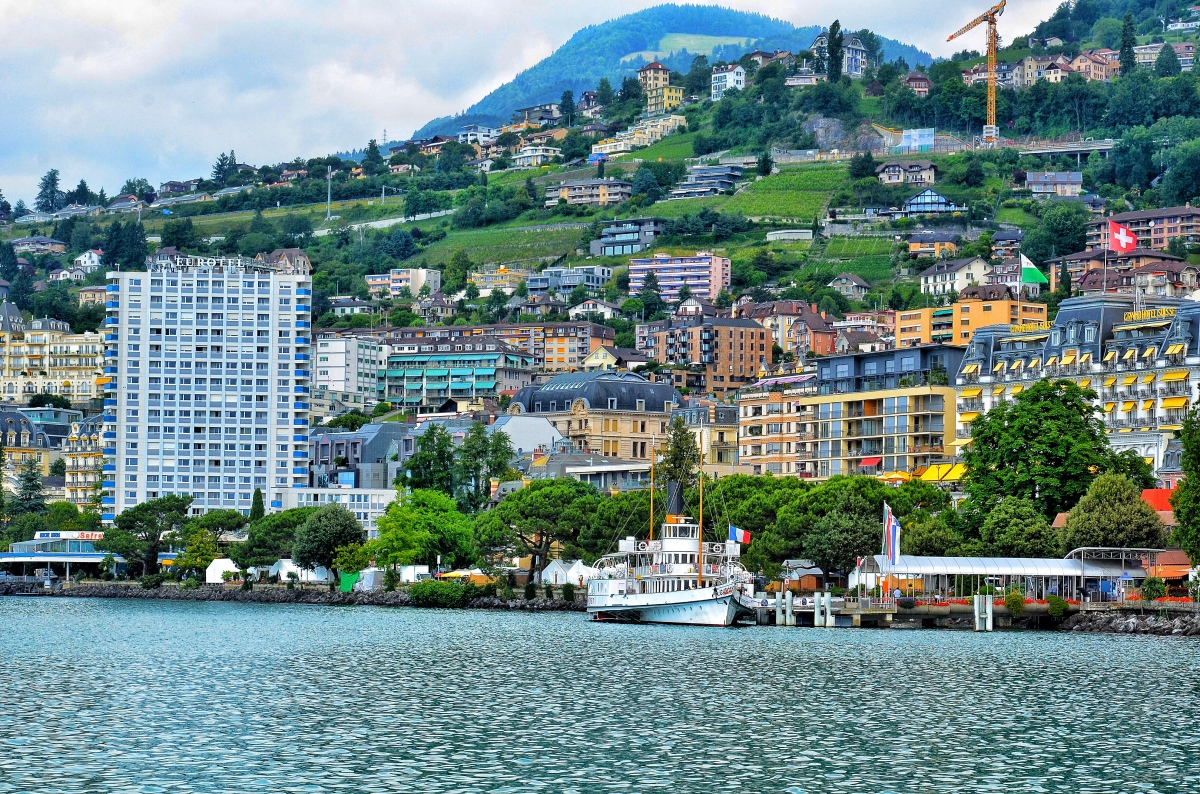 Montreux (Switzerland) in Pictures