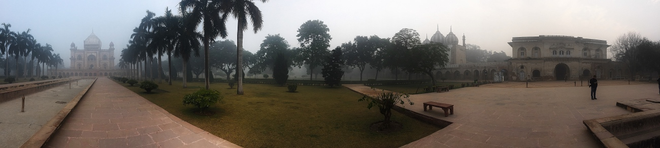 Safdarjung's Tomb in Panorama