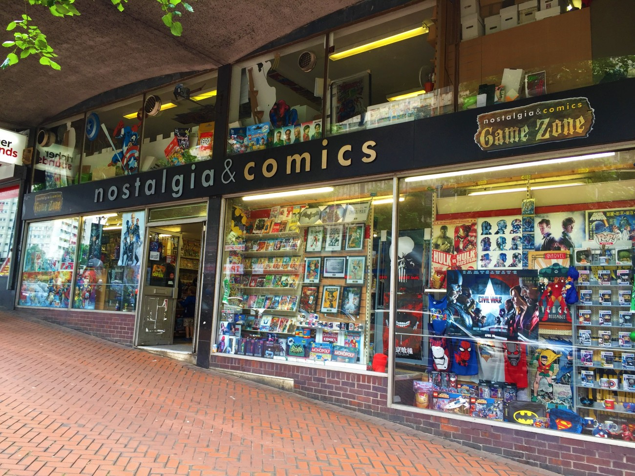 Nostalgia and Comics, Birmingham, UK