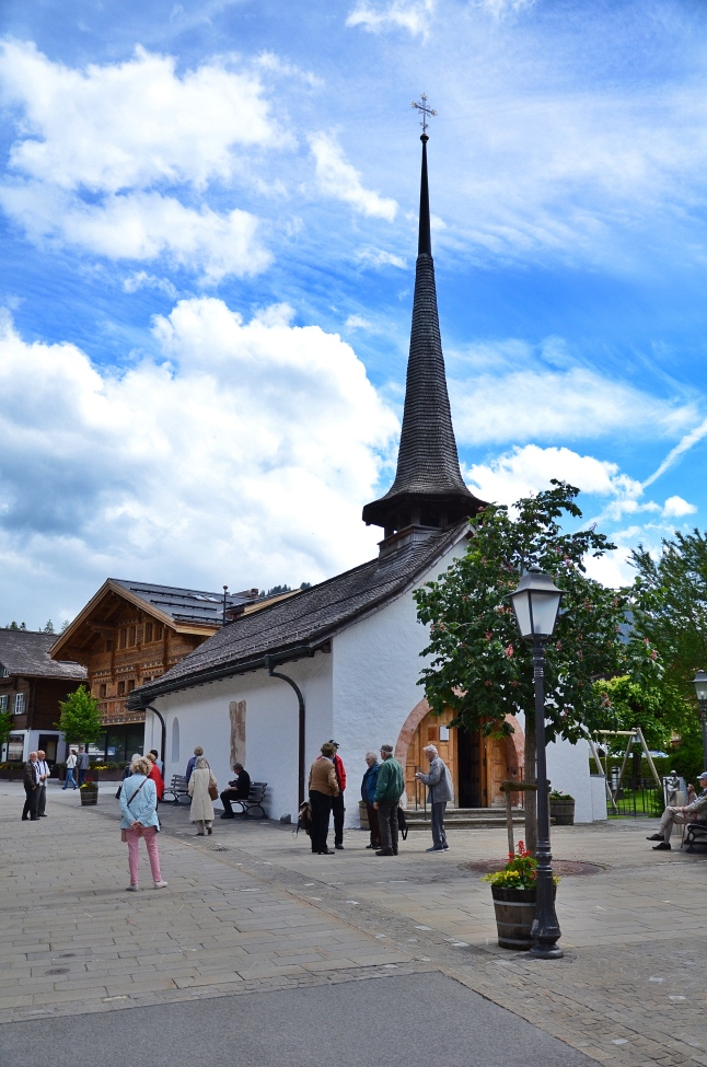 Church - Gstaad