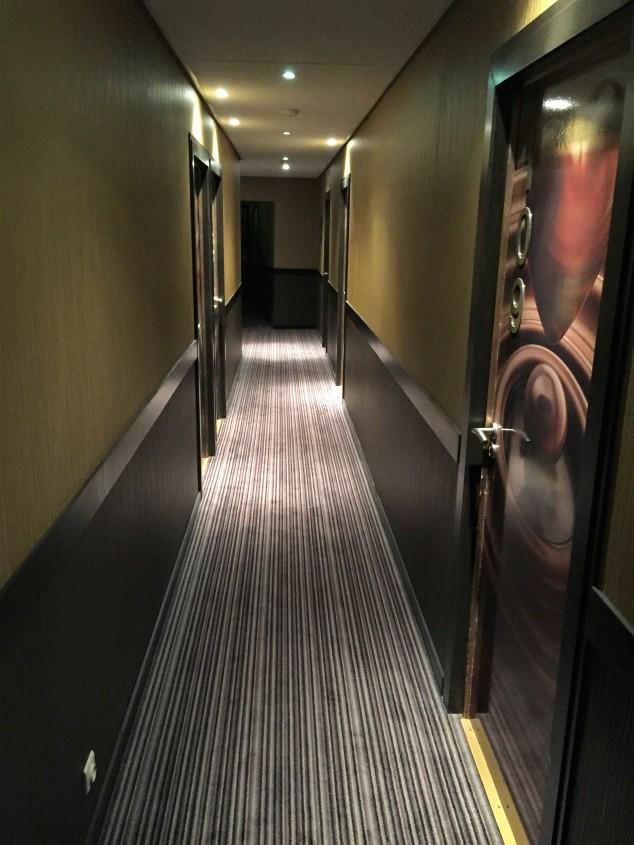 Hallways - Hotel Saint Nicolas