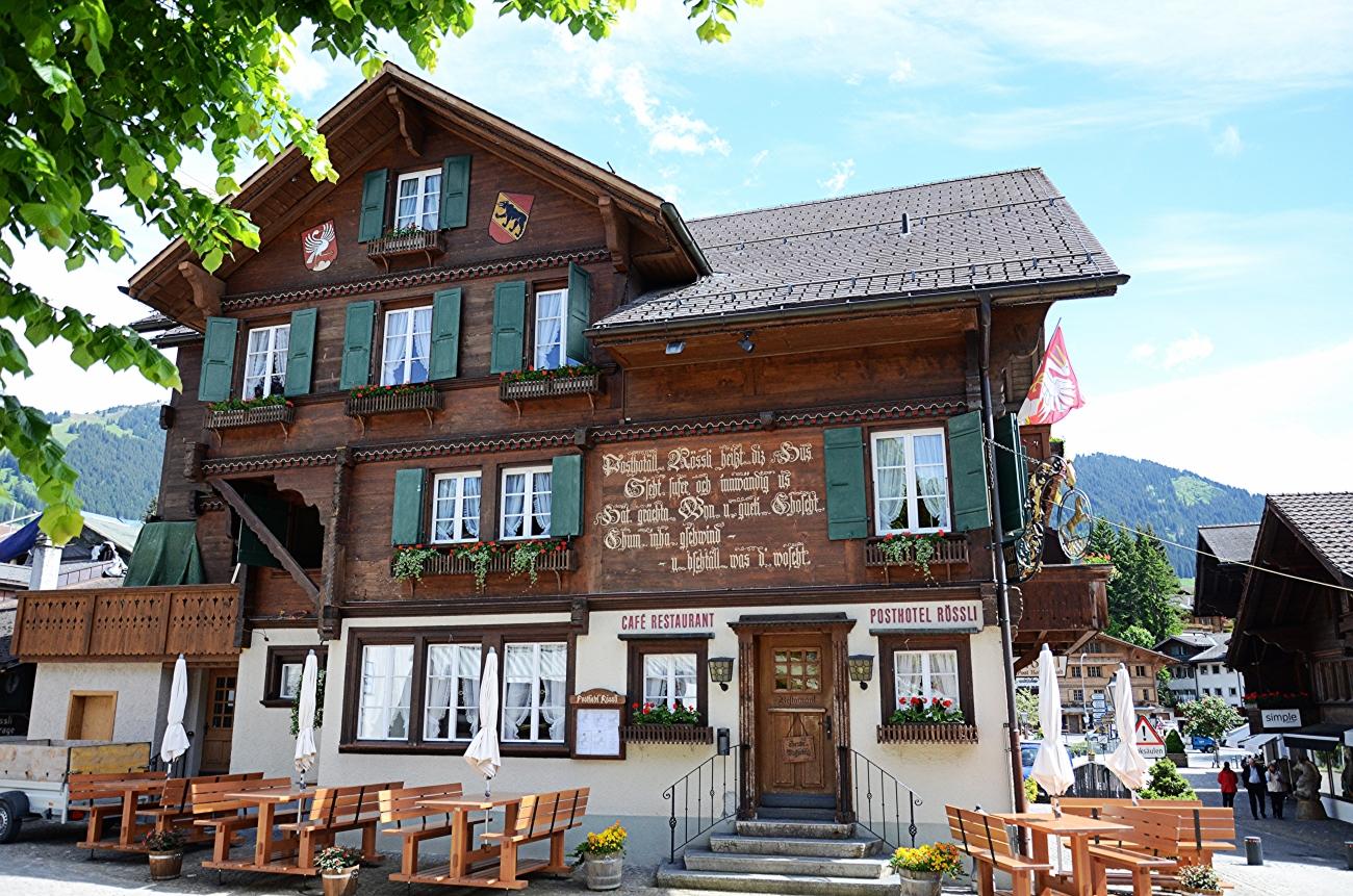 PostHotel Rossli - Gstaad