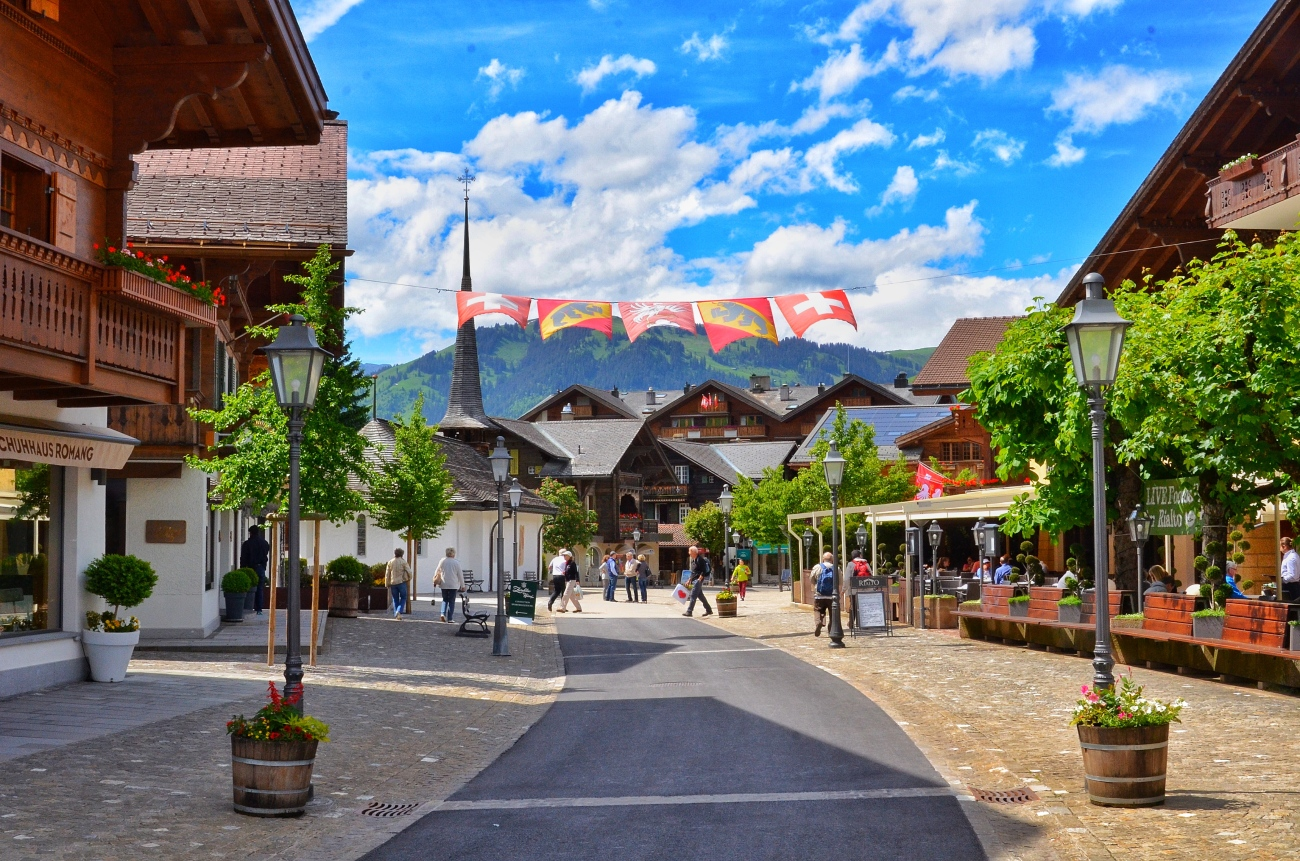 Quaint Little Town - Gstaad