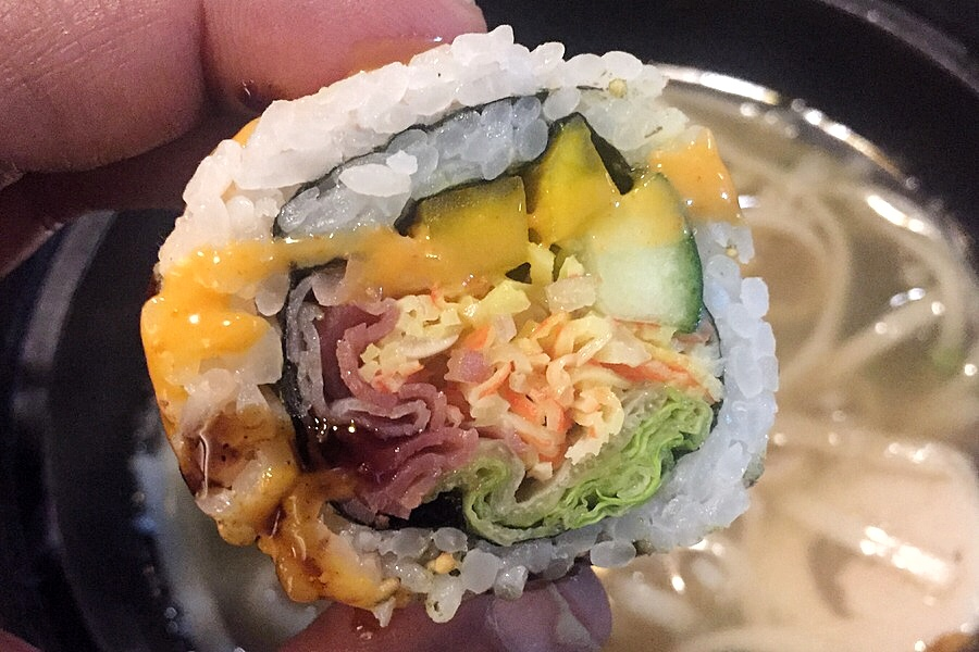 Bacon Roll - Kimbap - Korean