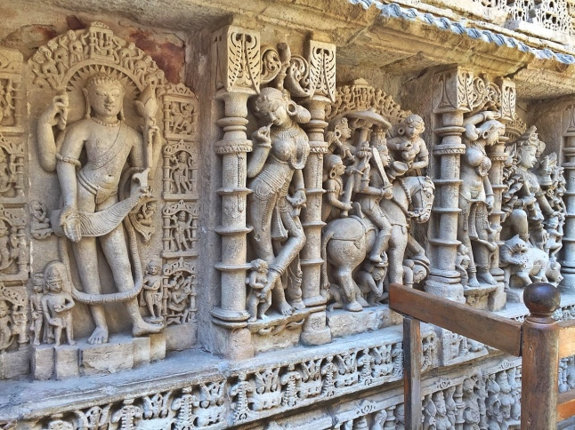 Intricate Workmanship - Rani ki vav in Patan, Gujarat