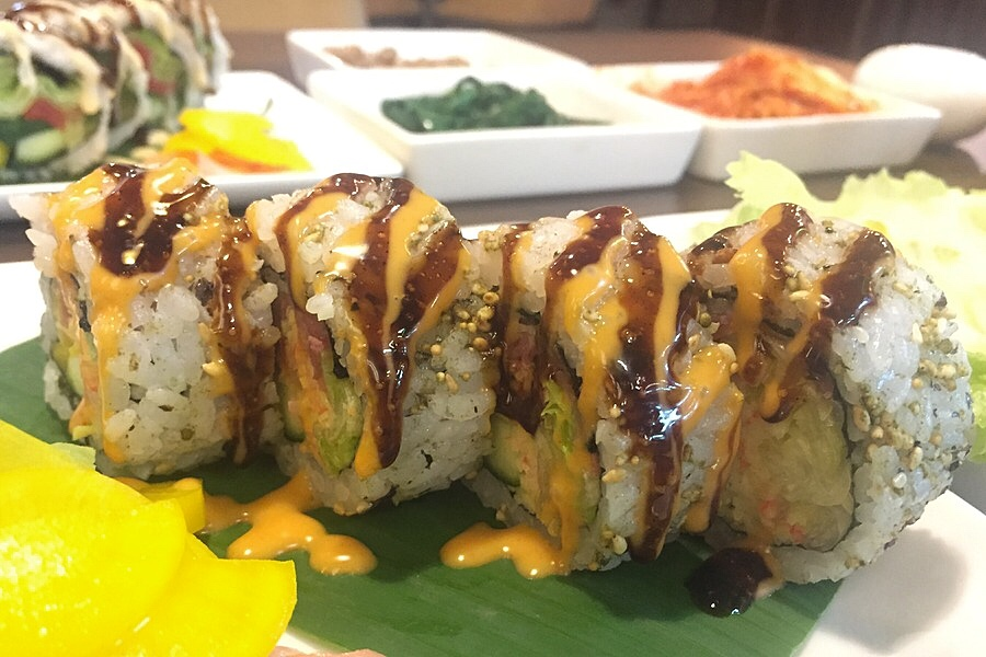 Kimbap - Korean Rolls