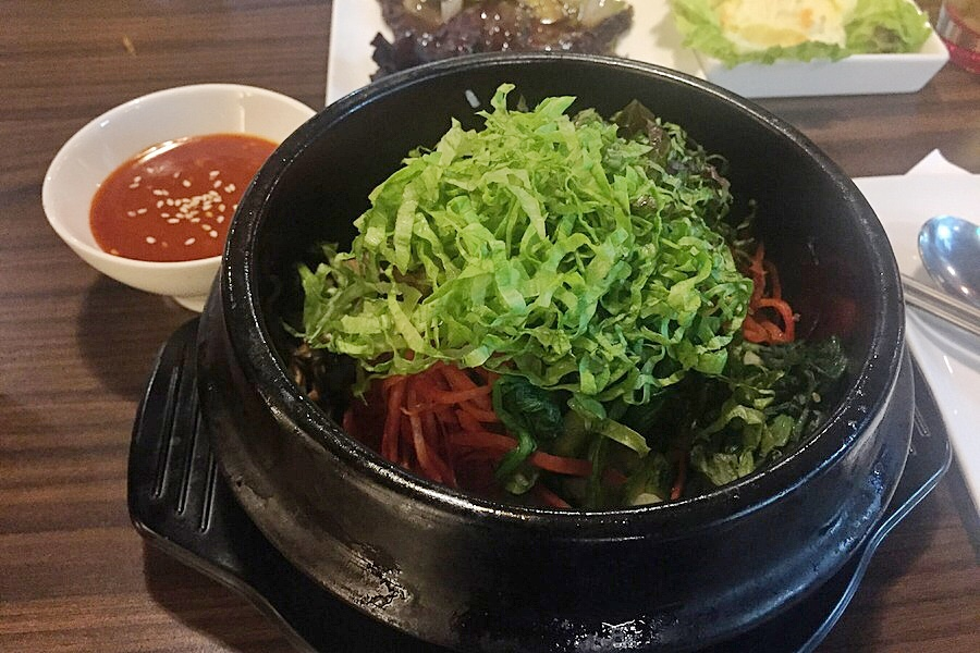 Korean Bibimbap with Gochujang sauce