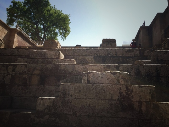 The Steps of the Stepwell - Rani ki vav, Patan, Gujarat
