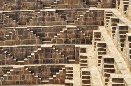 Geometric Shapes of Chand Baori