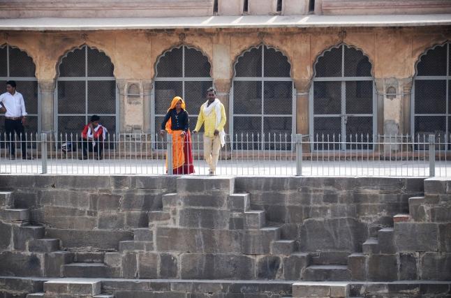 Local Visitors - Chand Boari, Rajasthan