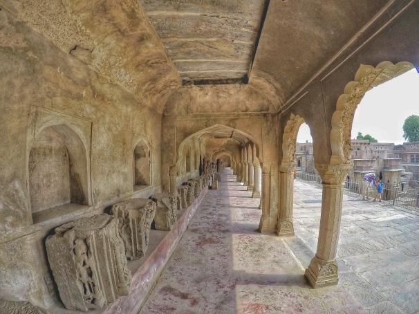Passageways filled with Ancient Art - Chand Baori, Rajasthan, India