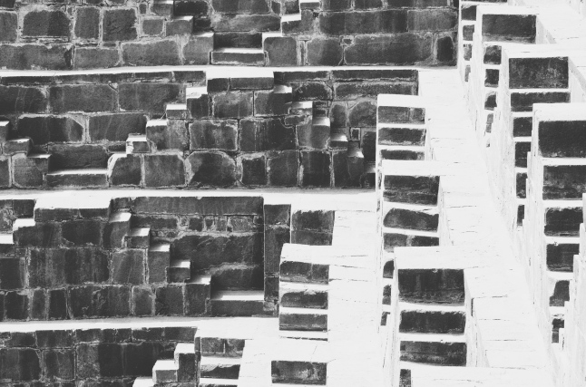 Playing Hide and Seek with the Sun - Chand Baori, Abhaneri