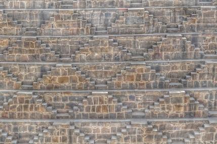 Stare into the Shape - Chand Baori (Stepwell), Rajasthan