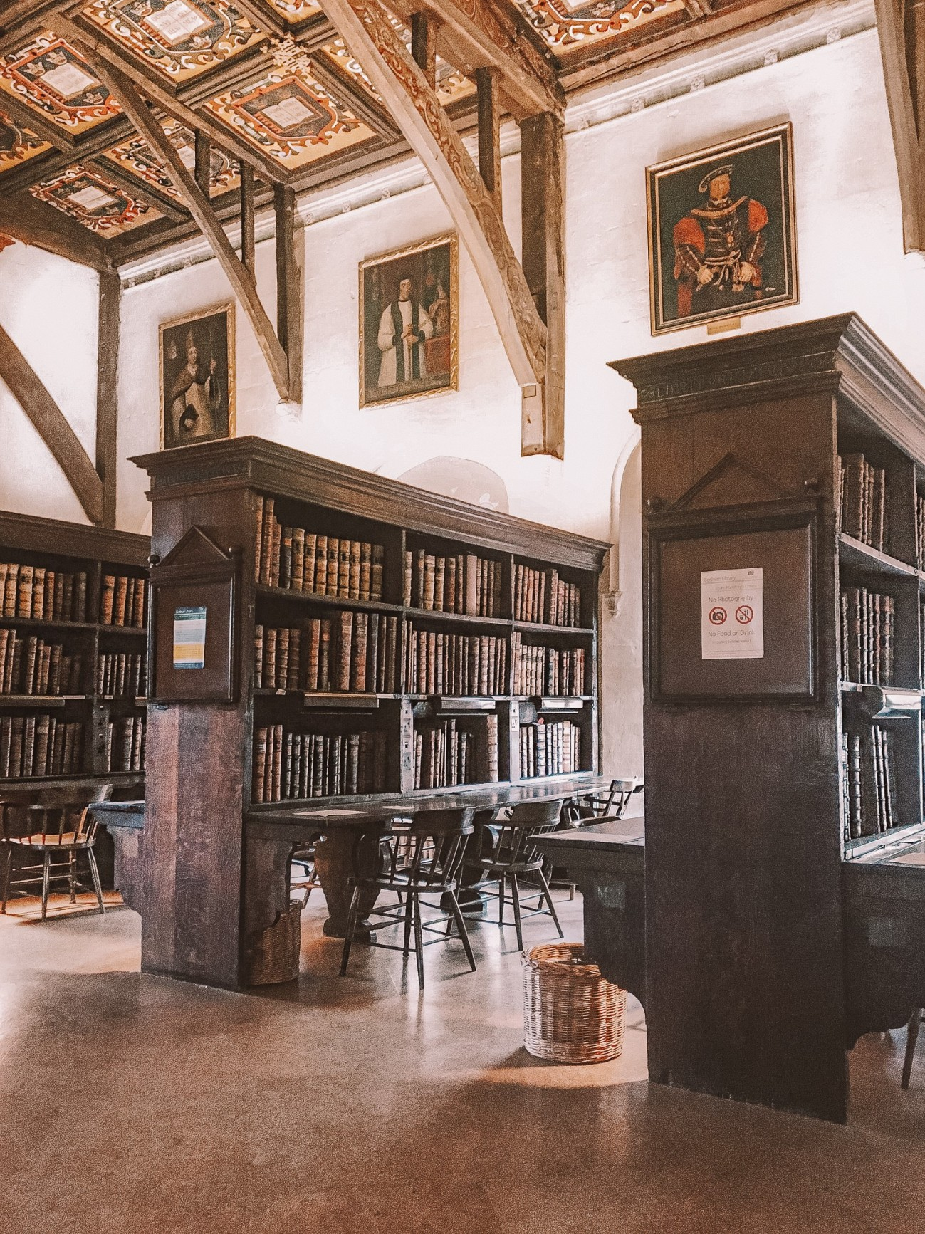 Duke Humfrey's Library at Oxford University