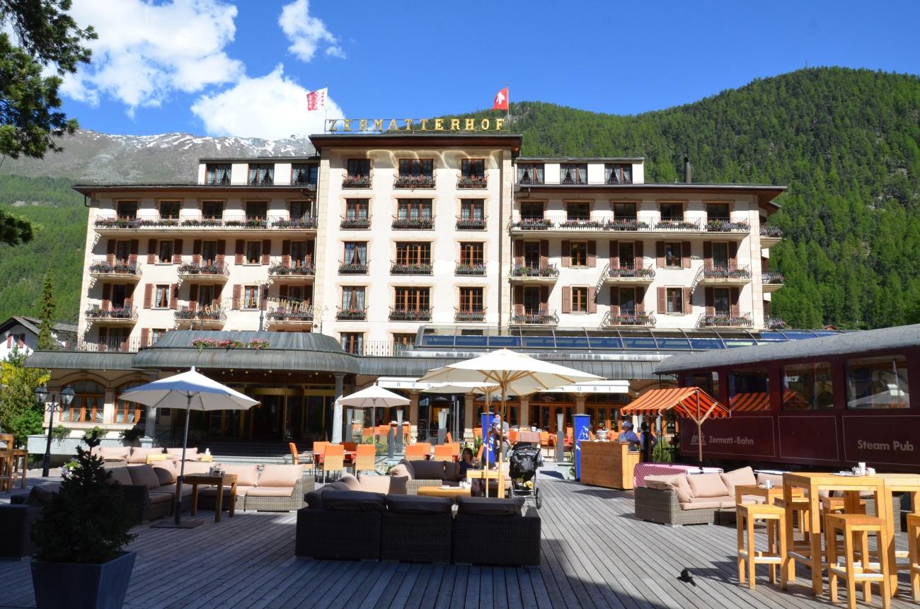 Hotel Zermatterhoff, Zermatt