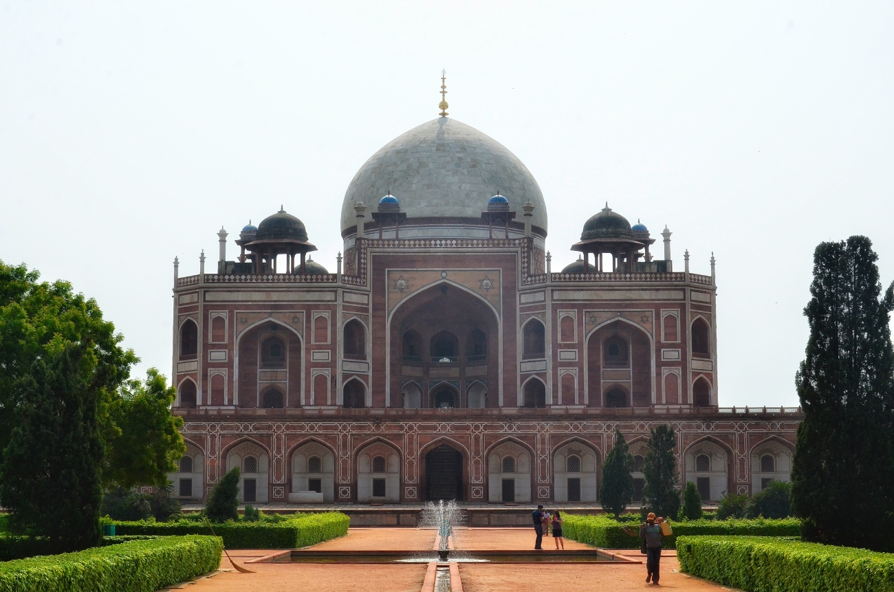 Humayun's Tomb - 4 Bagh architectural style