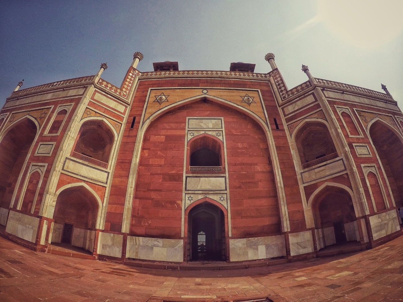 Humayun's Tomb - Red Stone and Mabel