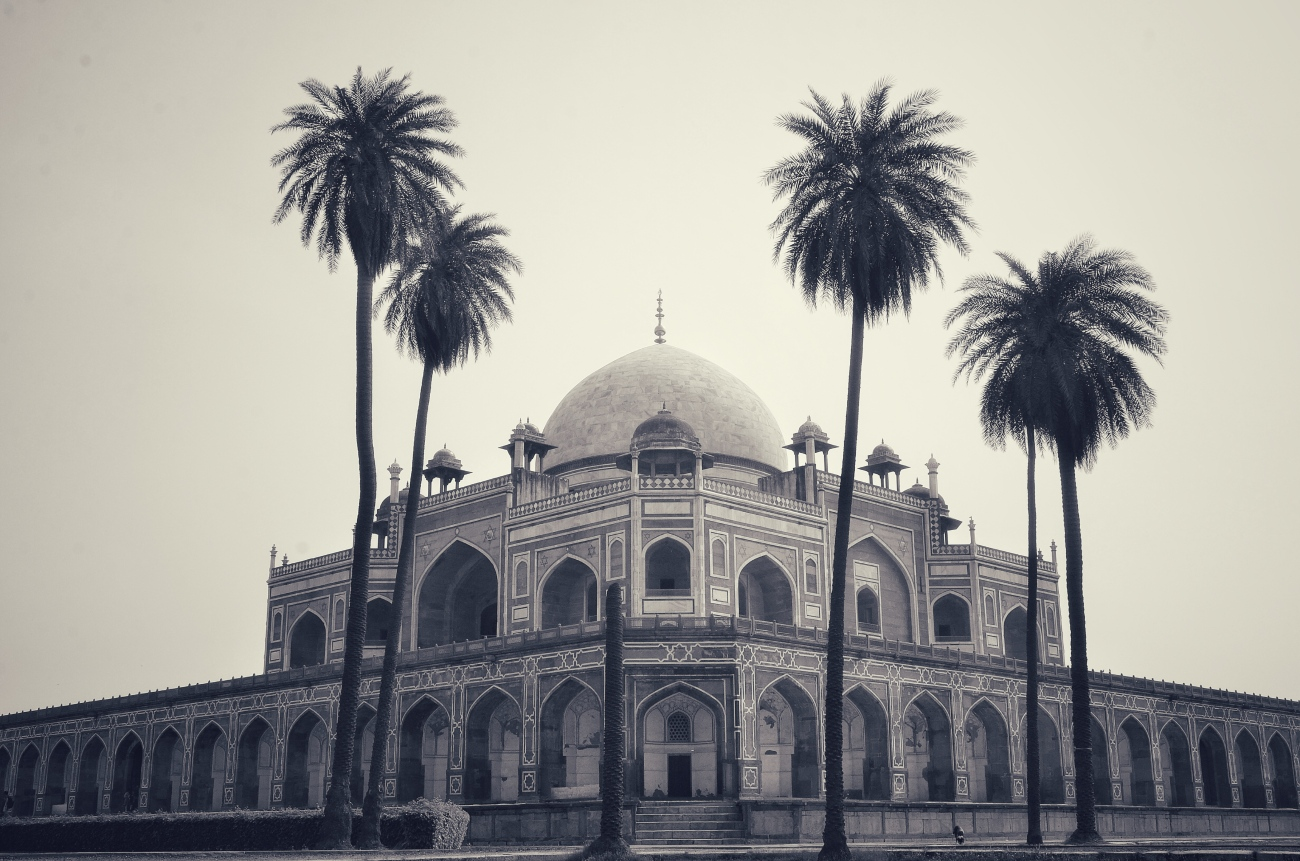 Humayu's Tomb - A photographer's delight