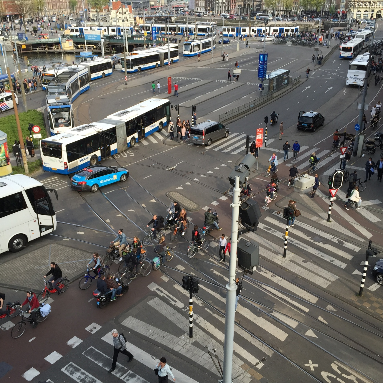 view from ibis styles amsterdam