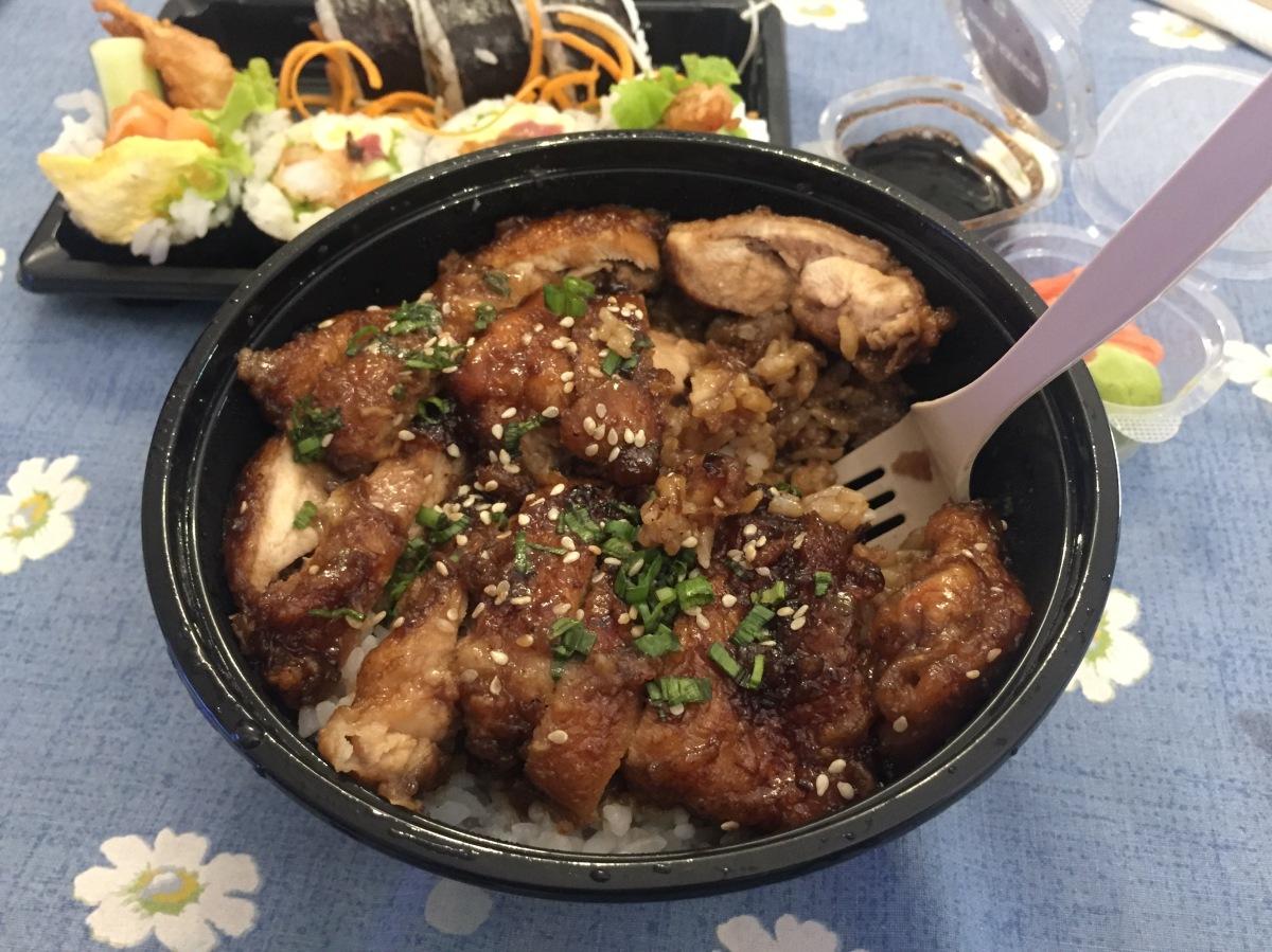 teriyaki chicken rice