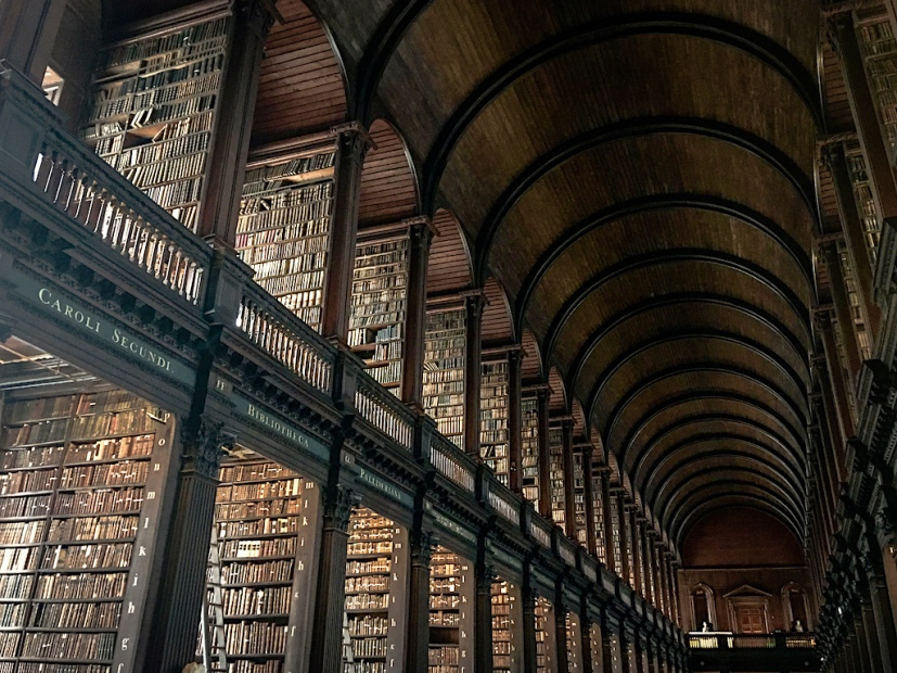 Long Room Library at Trinity College - Goyer, L