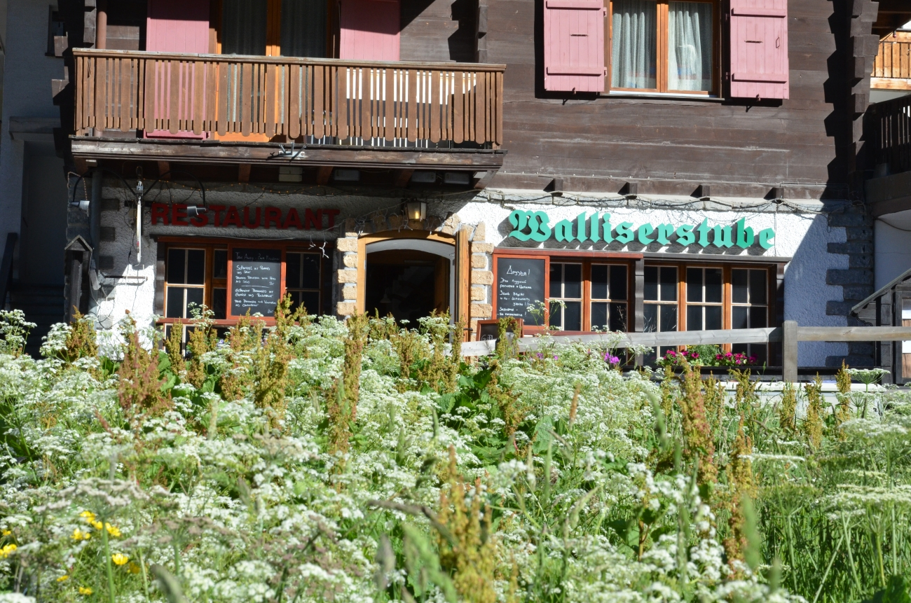 Quaint Cafes and Restaurants - Zermatt