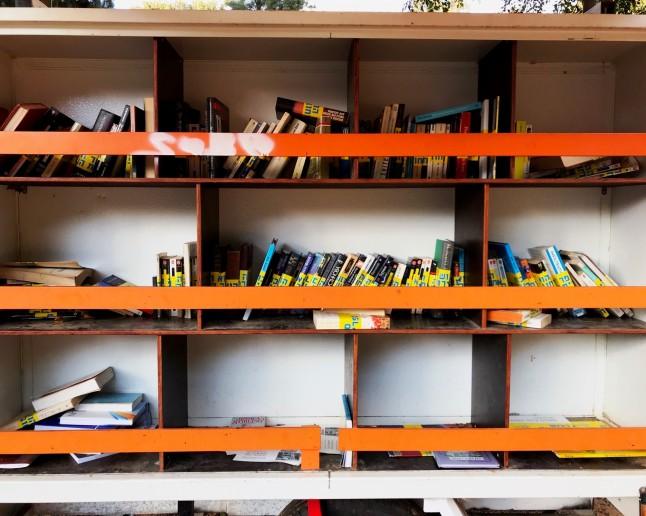 Mobile Library in Tel Aviv, Israel