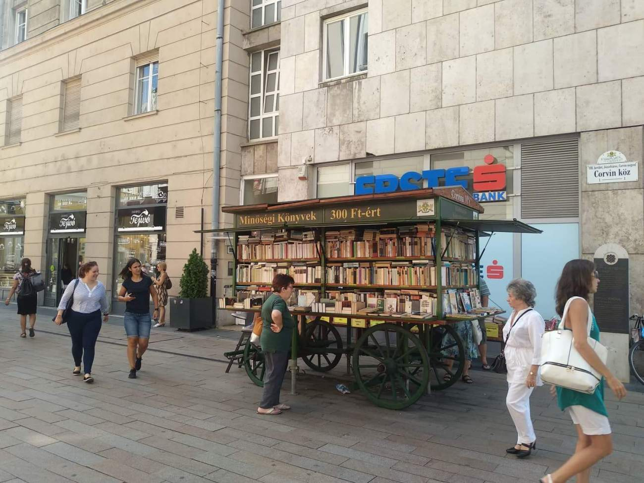 Moving Books, Budapest