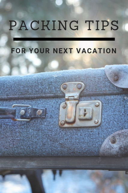Packing Tips for your Vacation #Travel #Packing #Tips