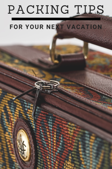 Quick Packing Tips for your next Holiday #Travel #Tips #Holiday #Luggage
