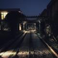 night path at Taj Damdama