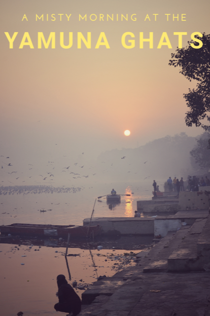 Sunrise at the Yamuna Ghats in New Delhi #Travel #Sunrise #Photography #Birds