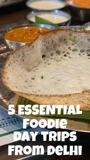 5 Essential Foodie Day Trips from Delhi NCR #DayTrip #Food #India #Delhi