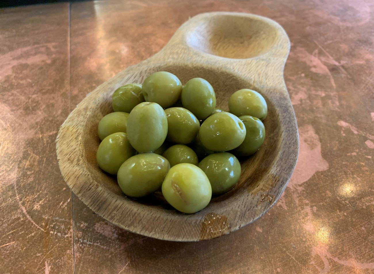 Aceitunas Manzanilla - Andalusian Olives at Tapas Revolution