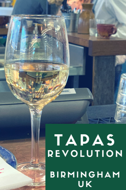 Review - Tapas Revolution #Food #Restaurant #Review #Birmingham #Spanish #Tapas