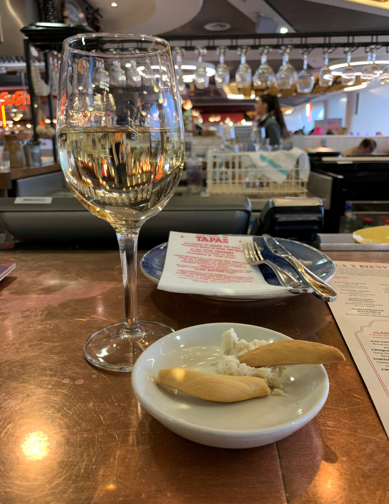 Wine and Cheese - Tapas Revolution